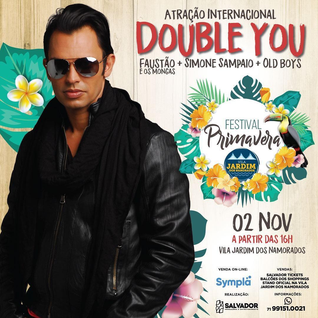 Show do Double You Festival da Primavera