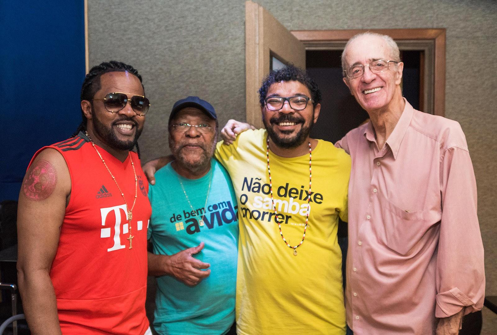Gravação do álbum de Tunico da Vila é destaque no Portal G1